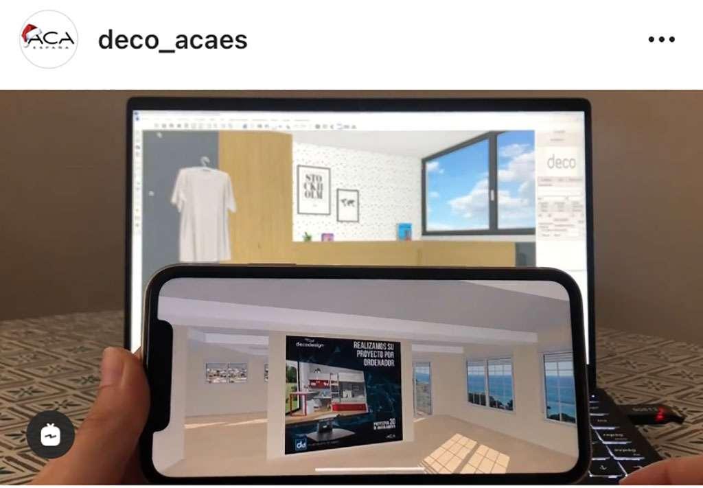 decoracion virtual de ACA España