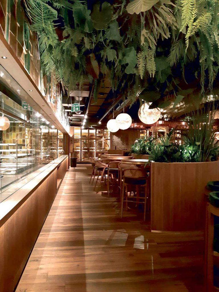 Restaurante Amazónico London, de Lázaro Rosa-Violán