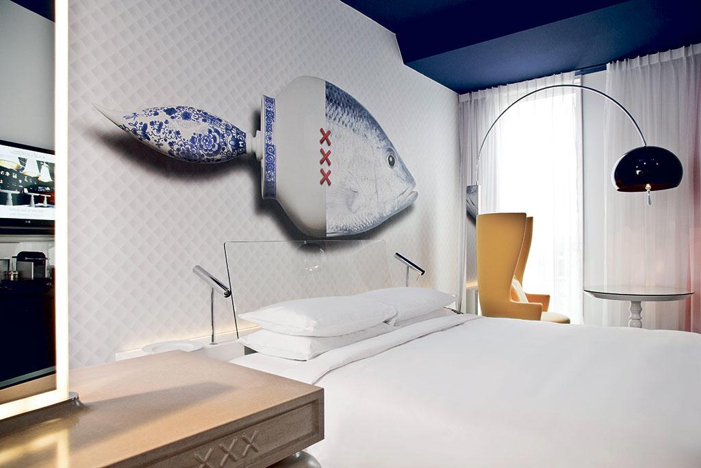 Hotel Andaz Amsterdam, dieñado por Marcel Wanders studio