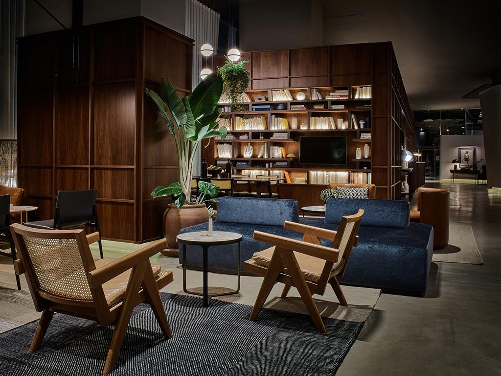 biblioteca de hotel