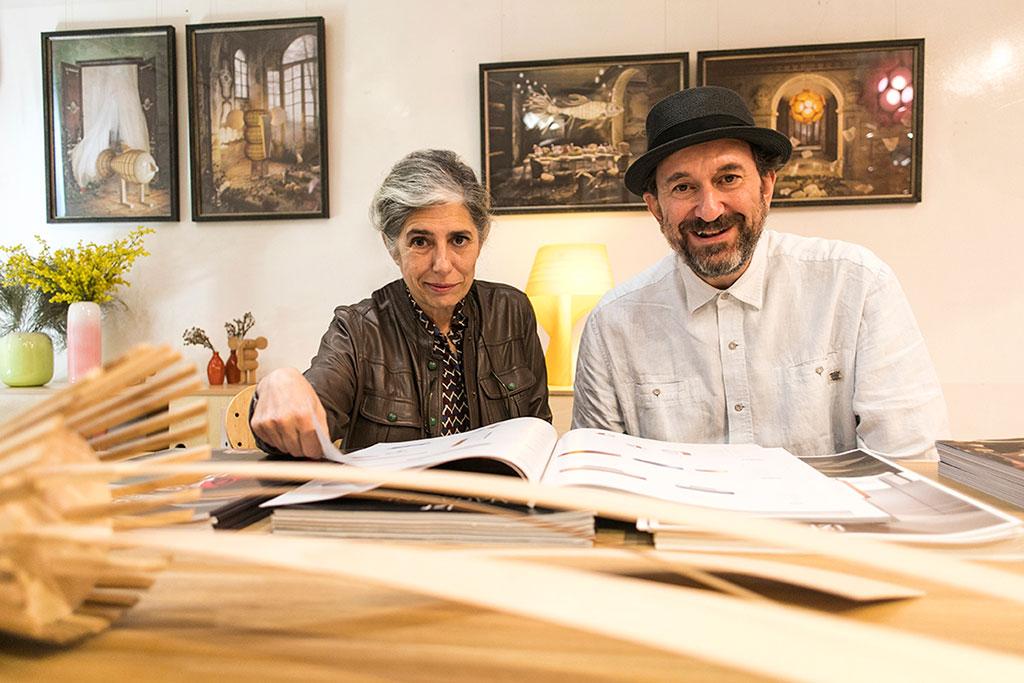 Mariví Calvo y Sandro Tothill, fundadores de LZF