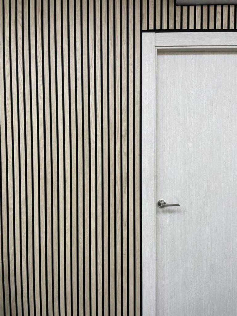 Sono, paneles fonoabsorbentes de madera de Vanssen