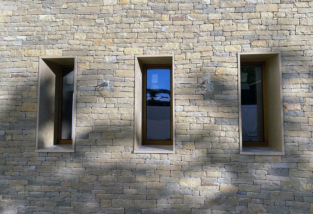 Ventanas de caelux en esta casa passivhaus