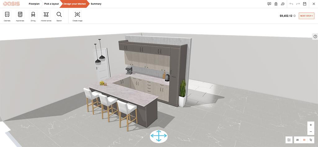Proyecto virtual con 3DIVIA Home