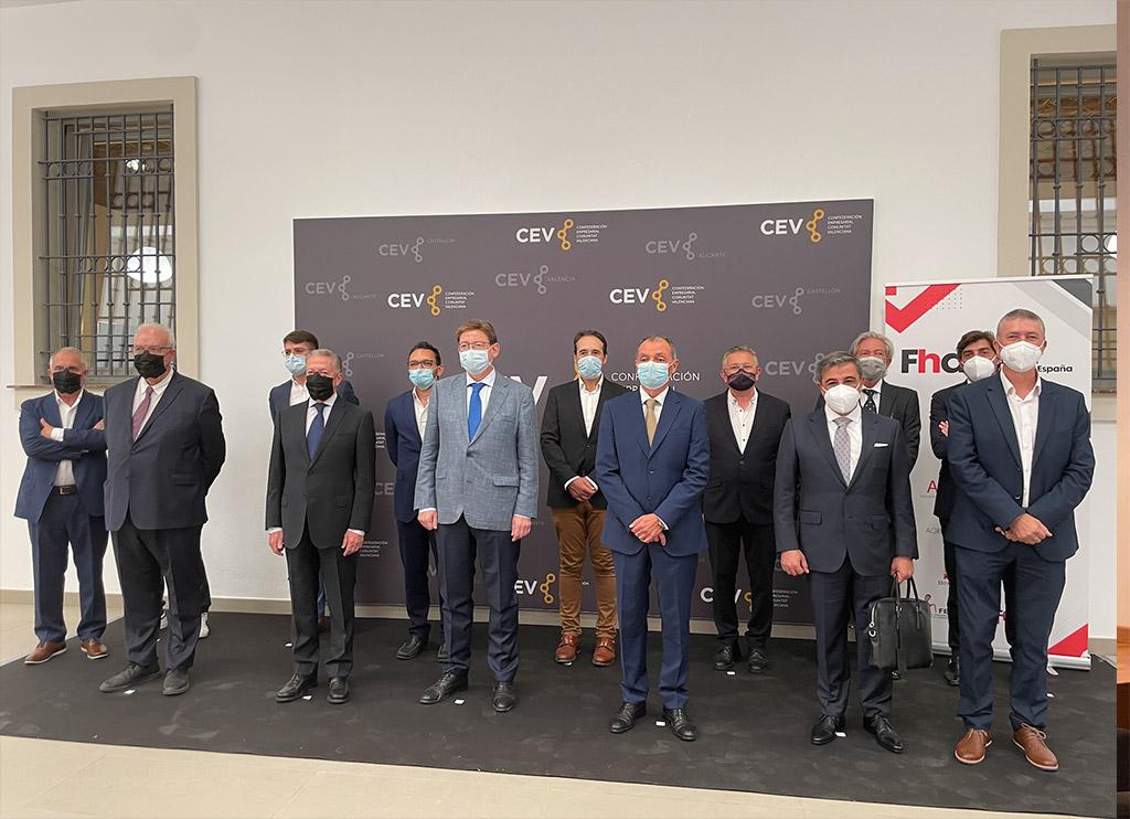 miembros representantes de la Federación Hábitat de España