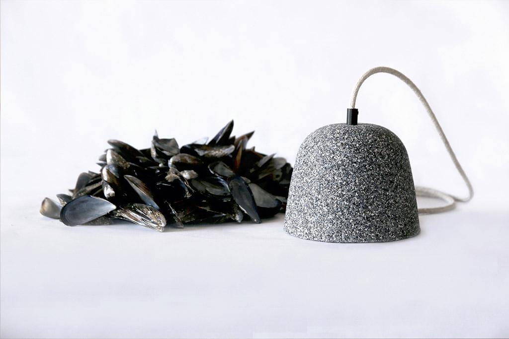 Diseño biofílico a partir de deshechos del mar