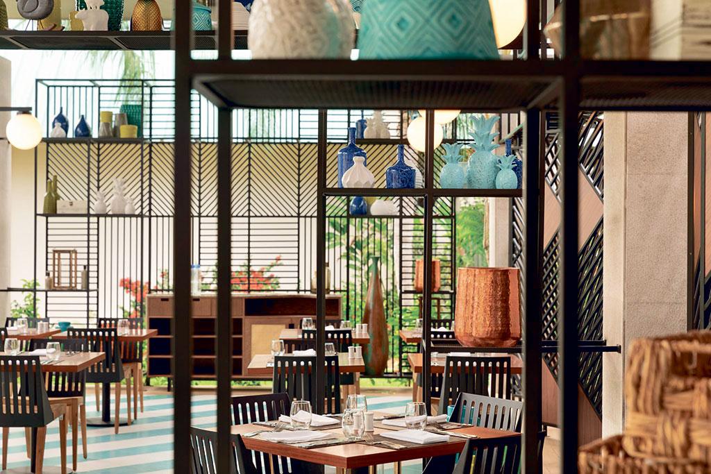 Imagen el restaurante del hotel