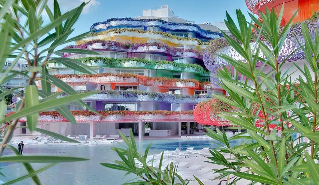 hotel Las boas Ibiza, una de las mejores terrazas de verano