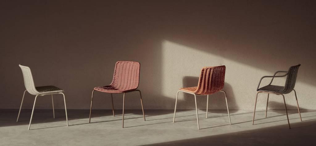 silla Lapala, artesanía en interiorismo por Expormim