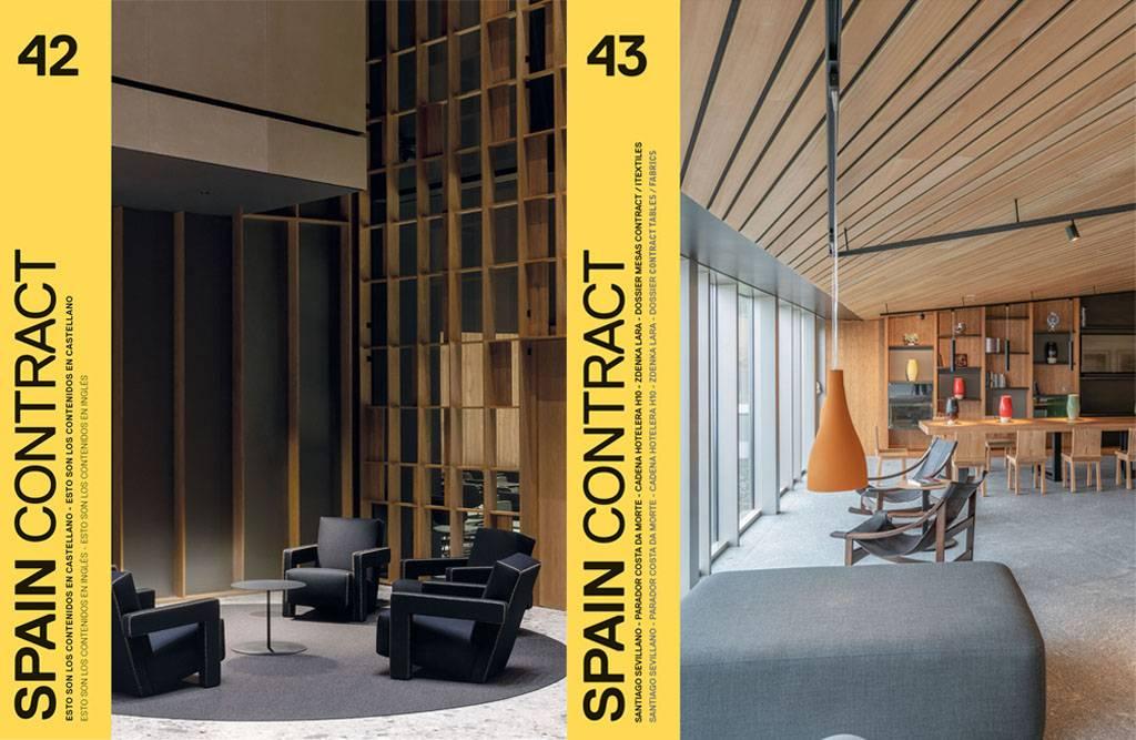portadas de dos revistas de diseño