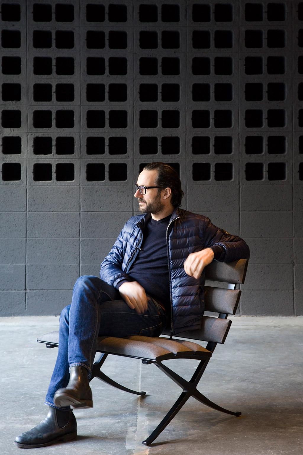 el diseñador industrial Konstantin Grcic