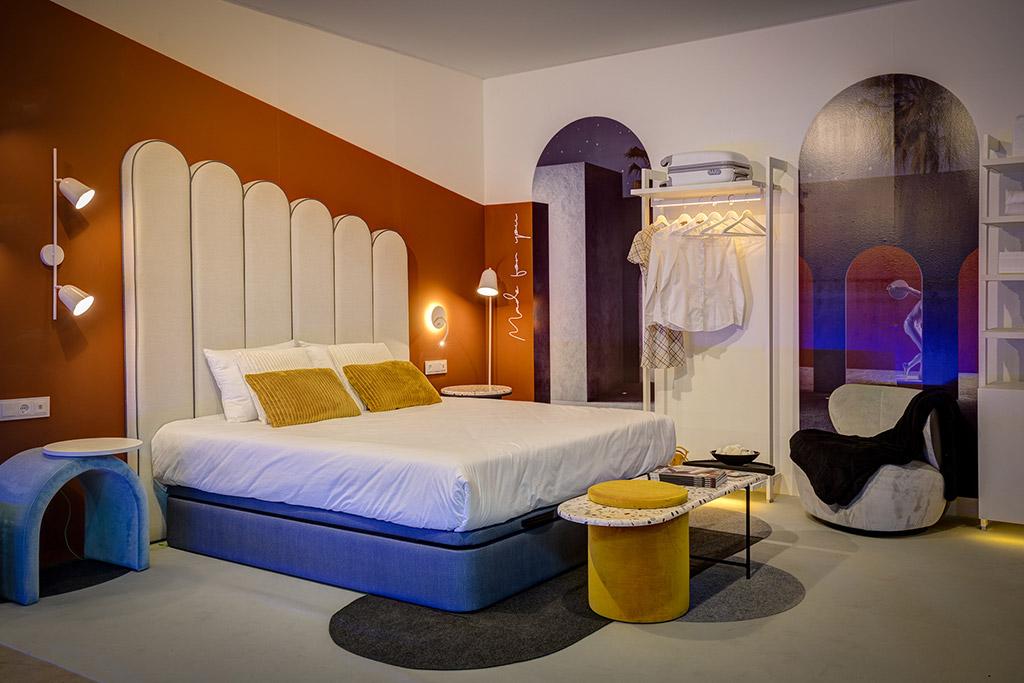 habitación expuesta en interihotel 2019