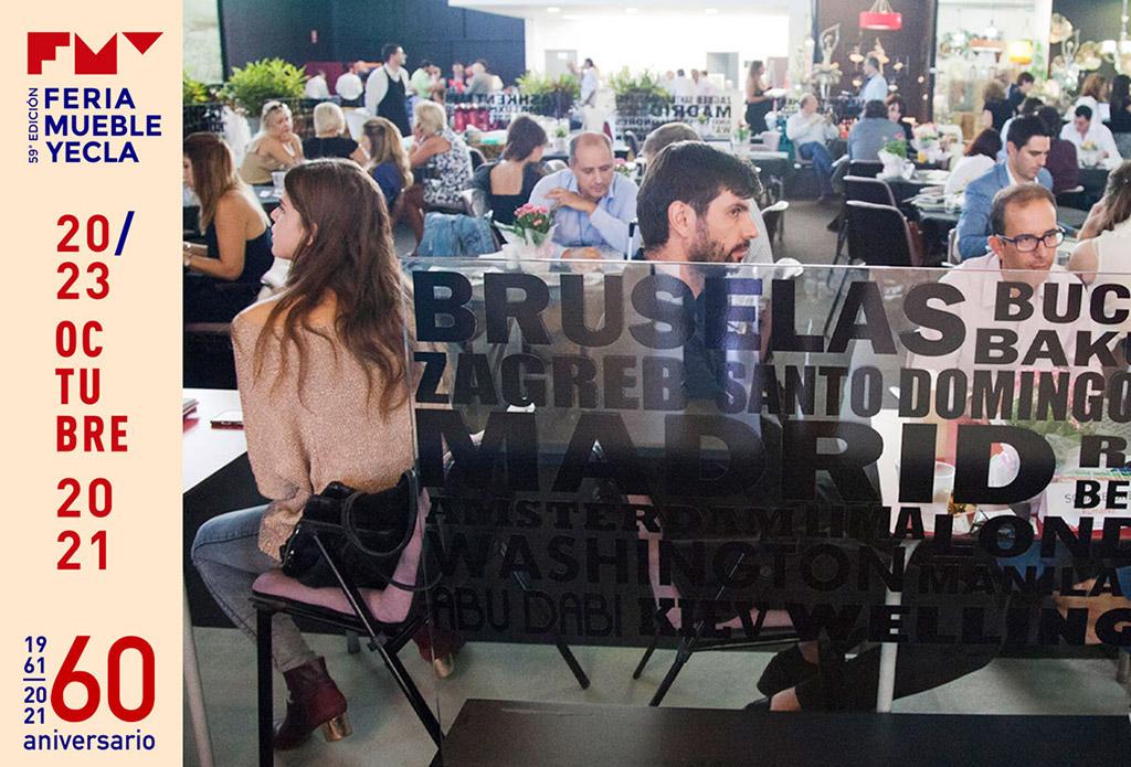 espacio de networking en Feria del Mueble Yecla