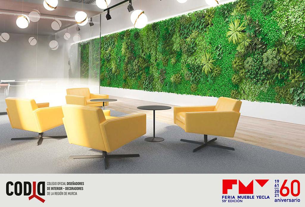 espacio biofílico en una imagen de FMY