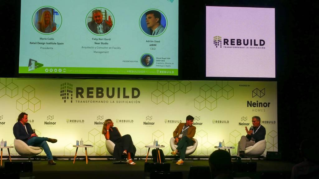 Tendencias en edificación en el Congreso de Rebuild 2021